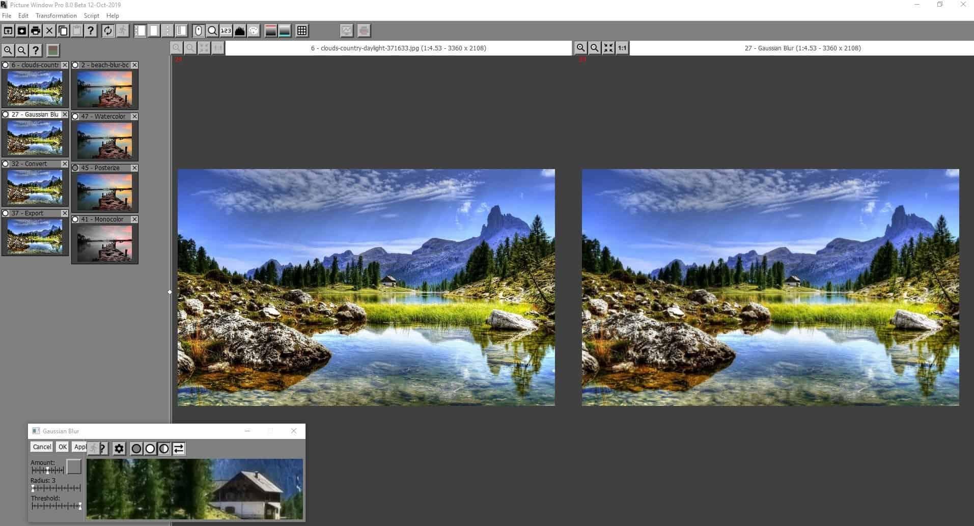 Picture Window Pro comparison