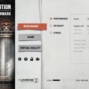 Superposition is a free benchmarking tool for testing the gaming performance of your computer