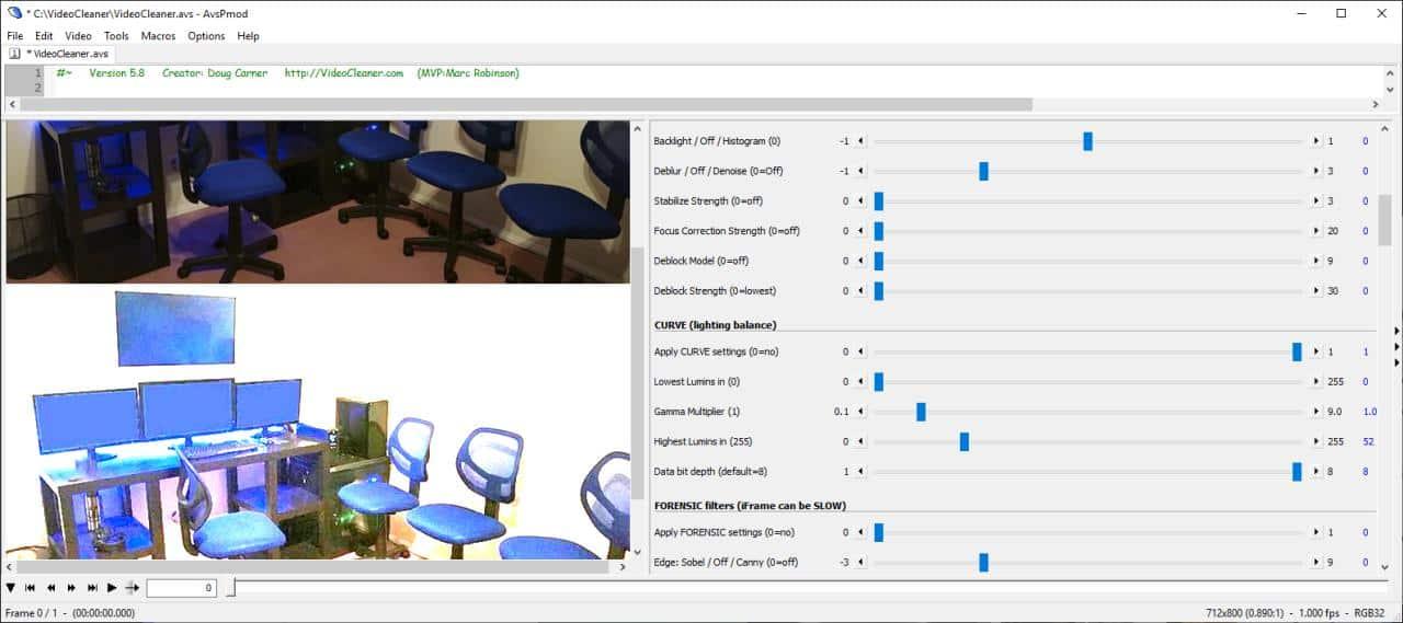 VideoCleaner video enhancement tool