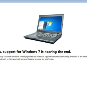 after 10 years windows 7 support end
