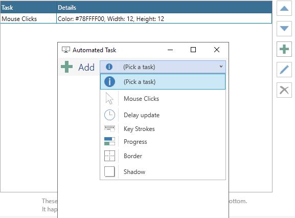 automated tasks screentogif