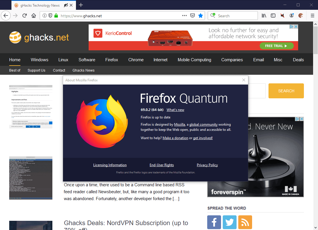 Firefox 69.0.2 Is Out, Here Is What Is New