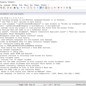notepad 7.8
