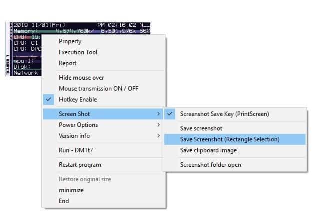 Thilmera Screenshot tool
