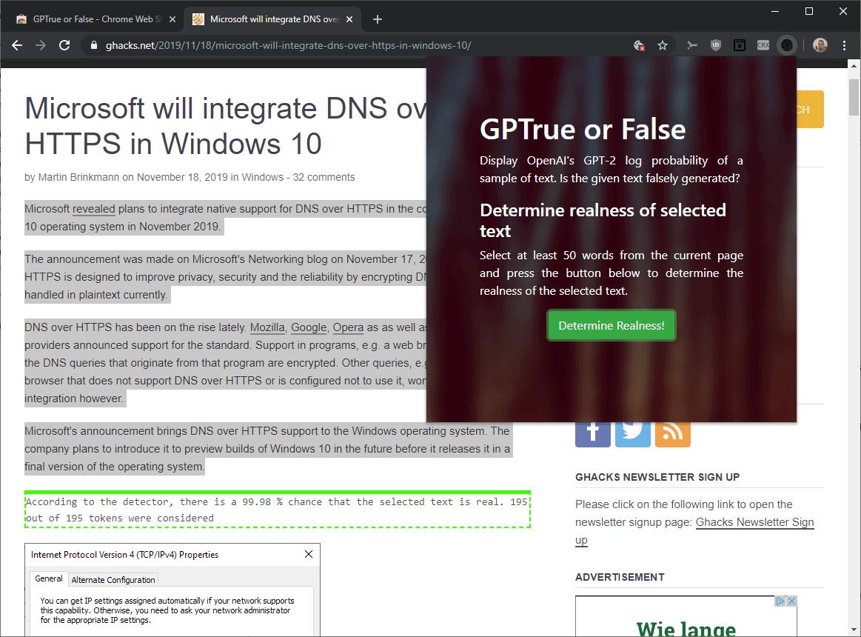 determine articles fake true