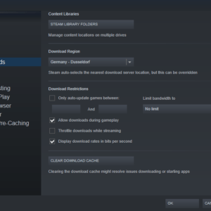 steam-manage-limit automatic game updates