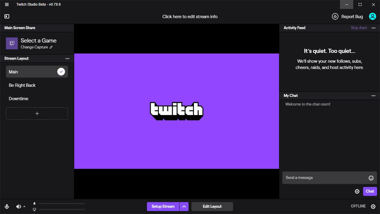 twitch studio app