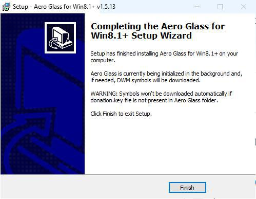 Aero Glass error