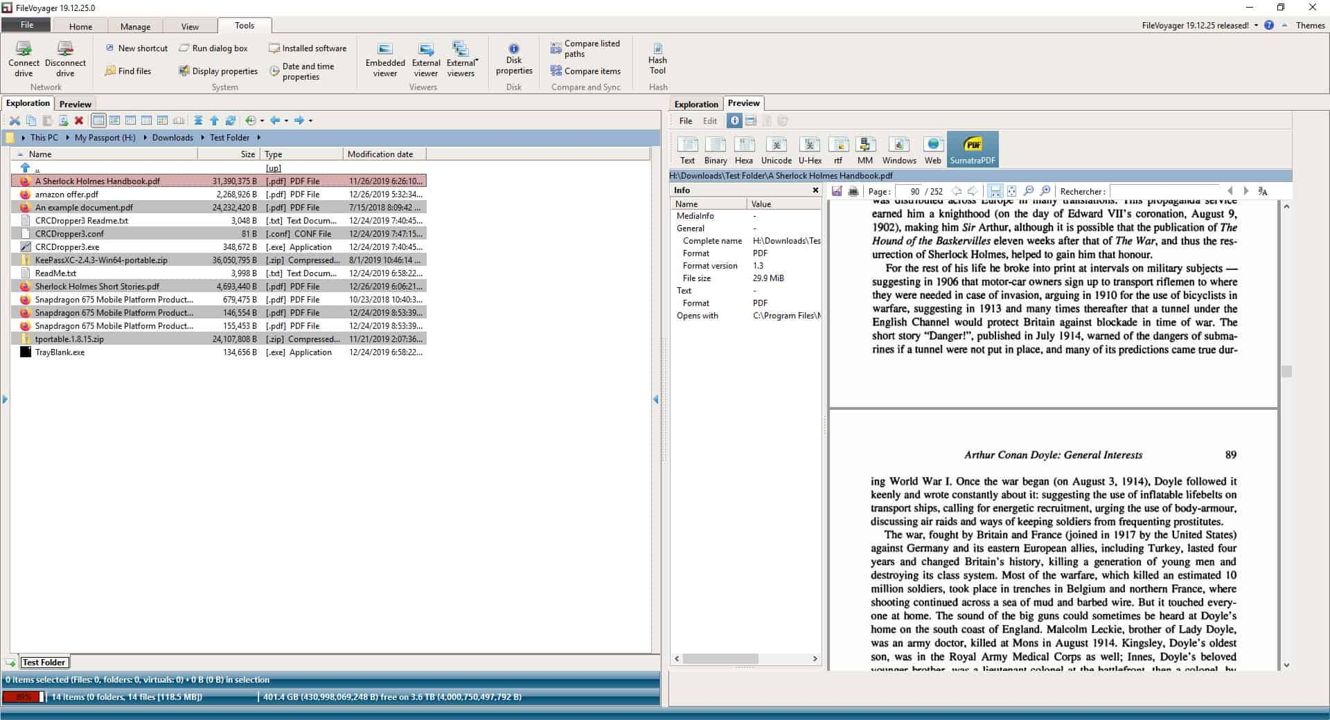 FileVoyager PDF