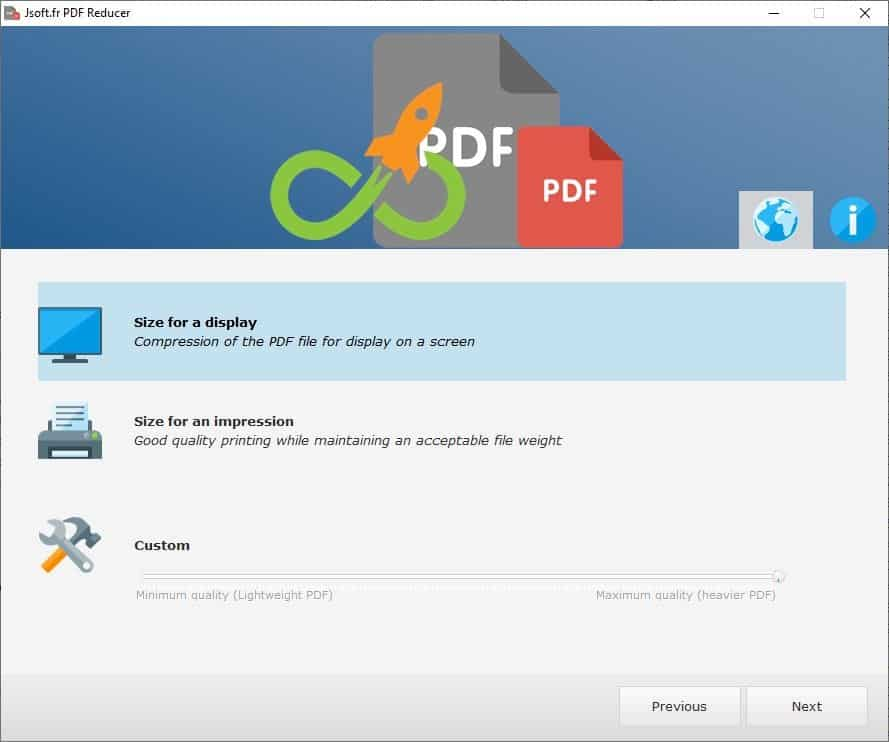 Jsoft PDF Reducer is a freeware tool for compressing PDFs and edit them