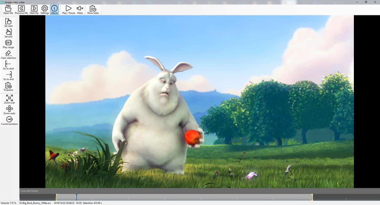 SimpleVideoCutter is a free and incredibly easy to use video trimming tool for Windows
