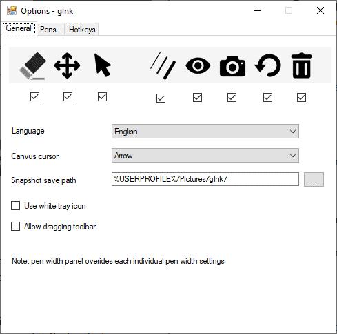 glnk options