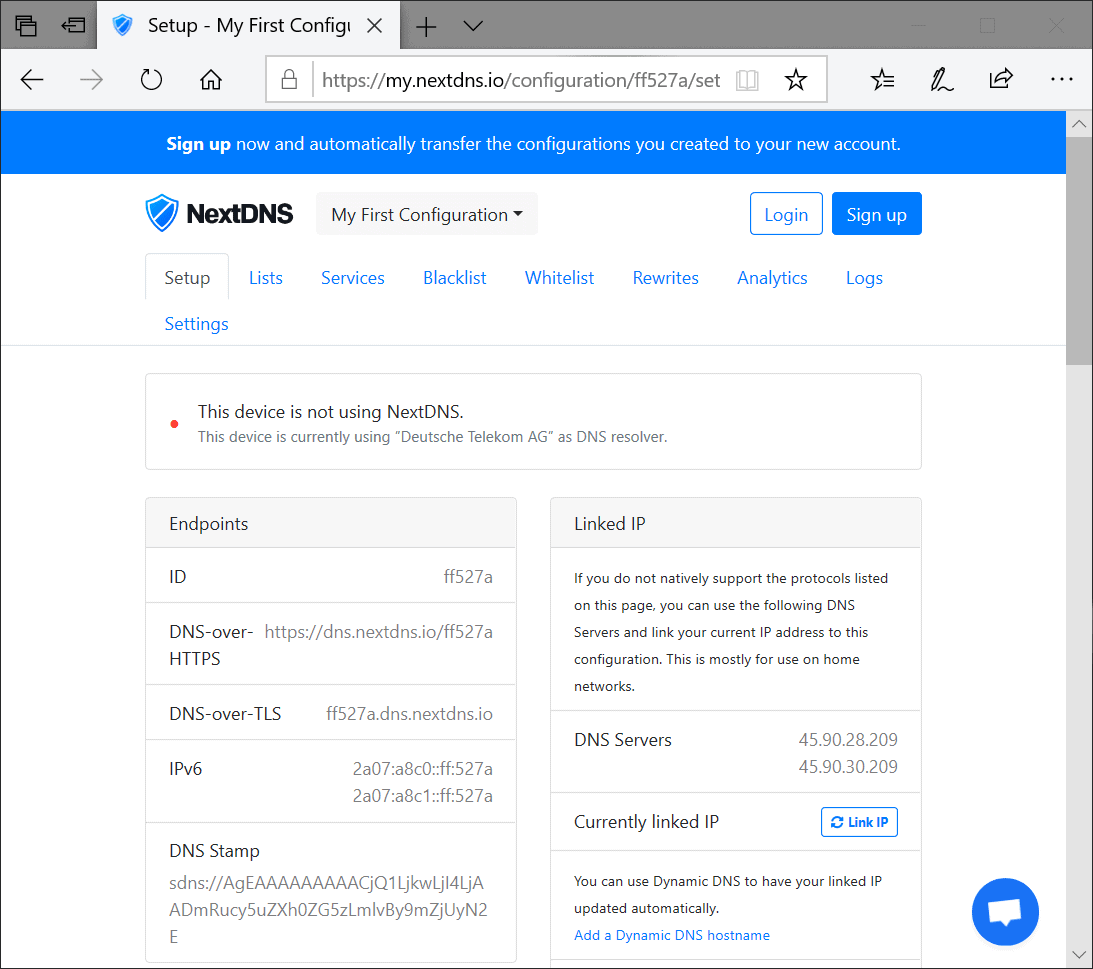 NextDNS is new Firefox DNS-over HTTPS partner