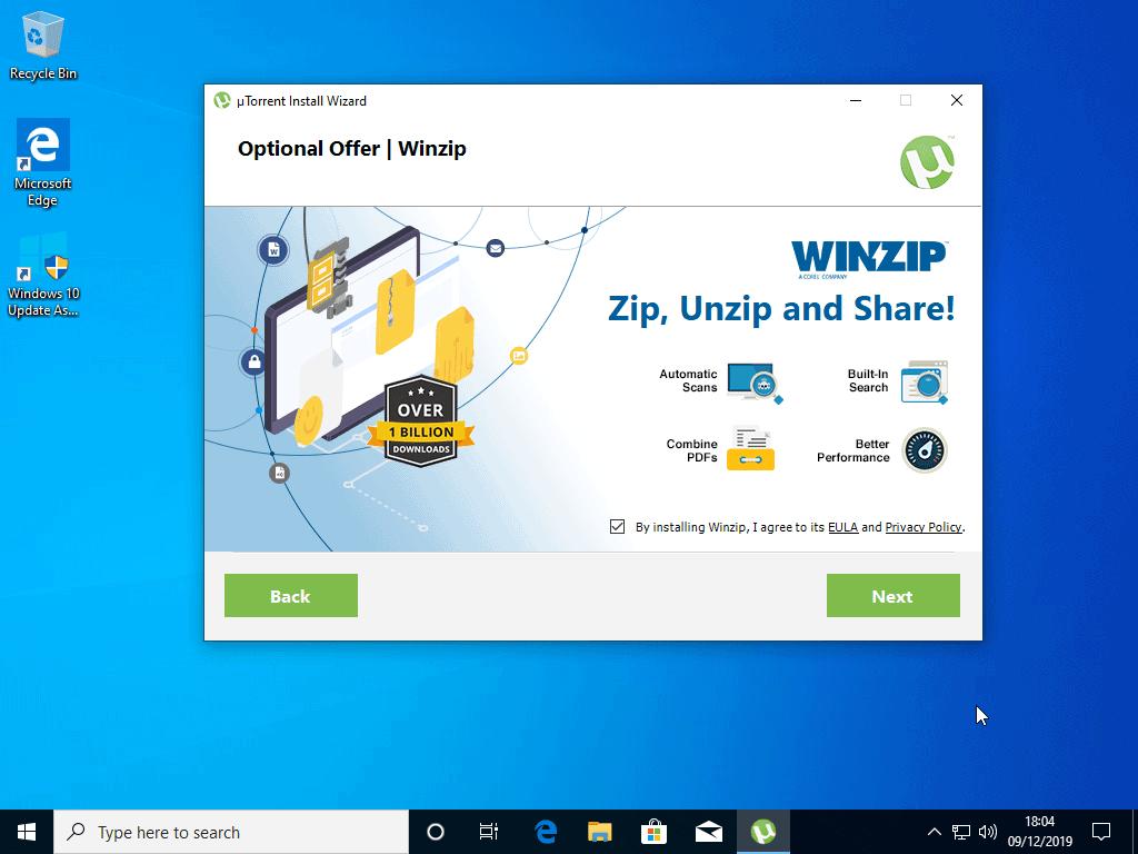 utorrent optional offer