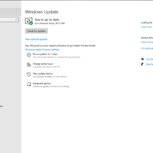 windows 10 optional driver updates