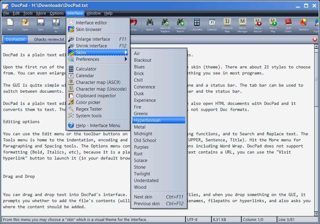 DocPad themes