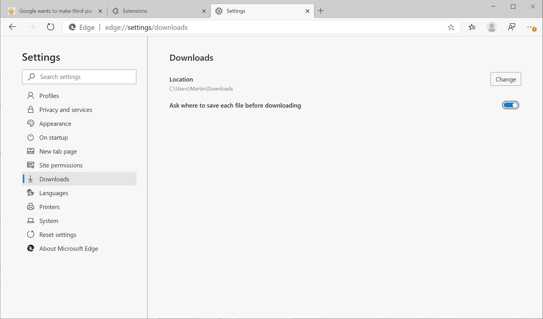 edge safer downloads