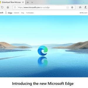 stable Microsoft Edge Chromium