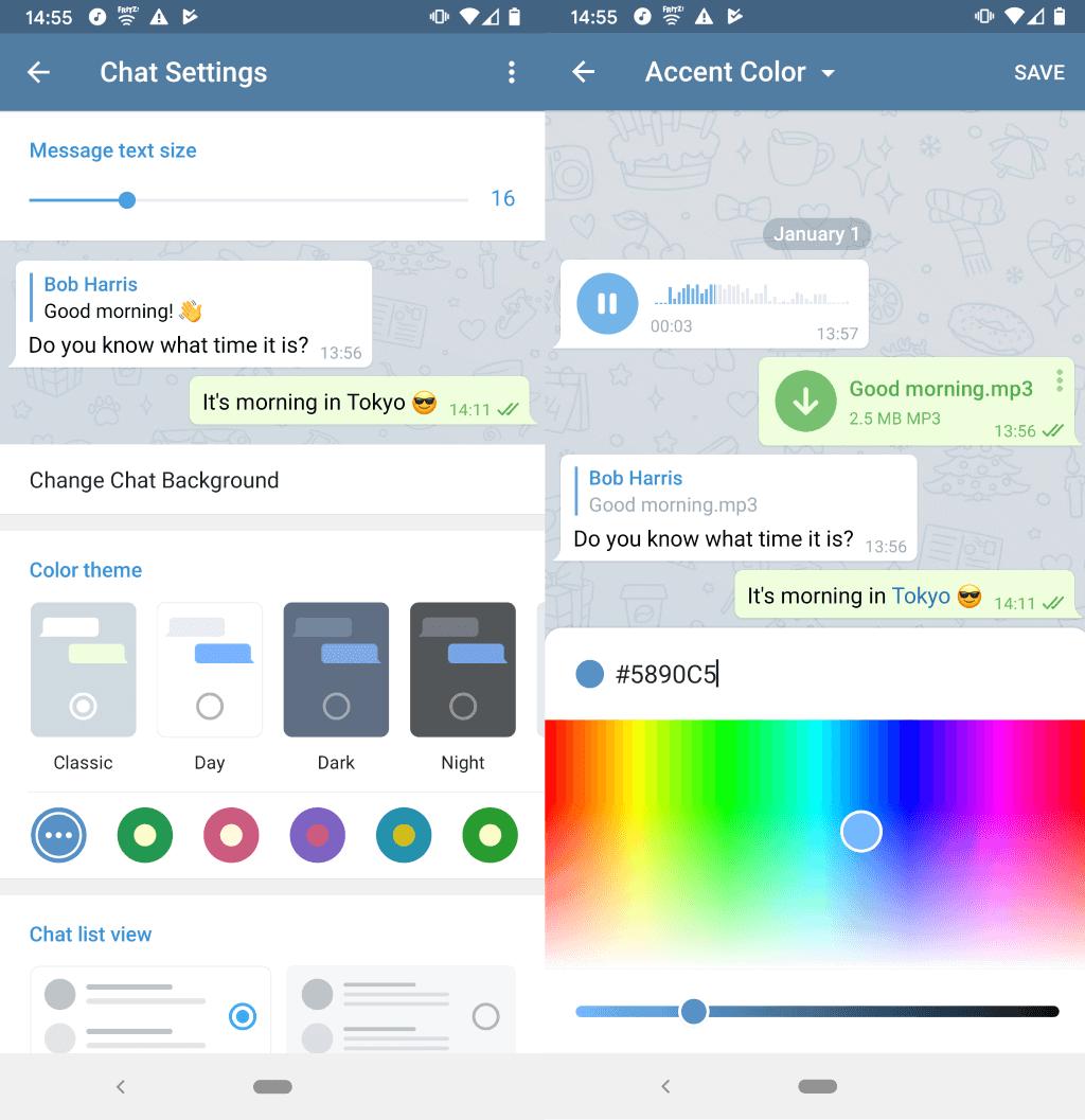 telegram update