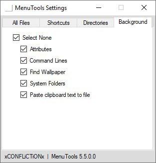MenuTools in-directory