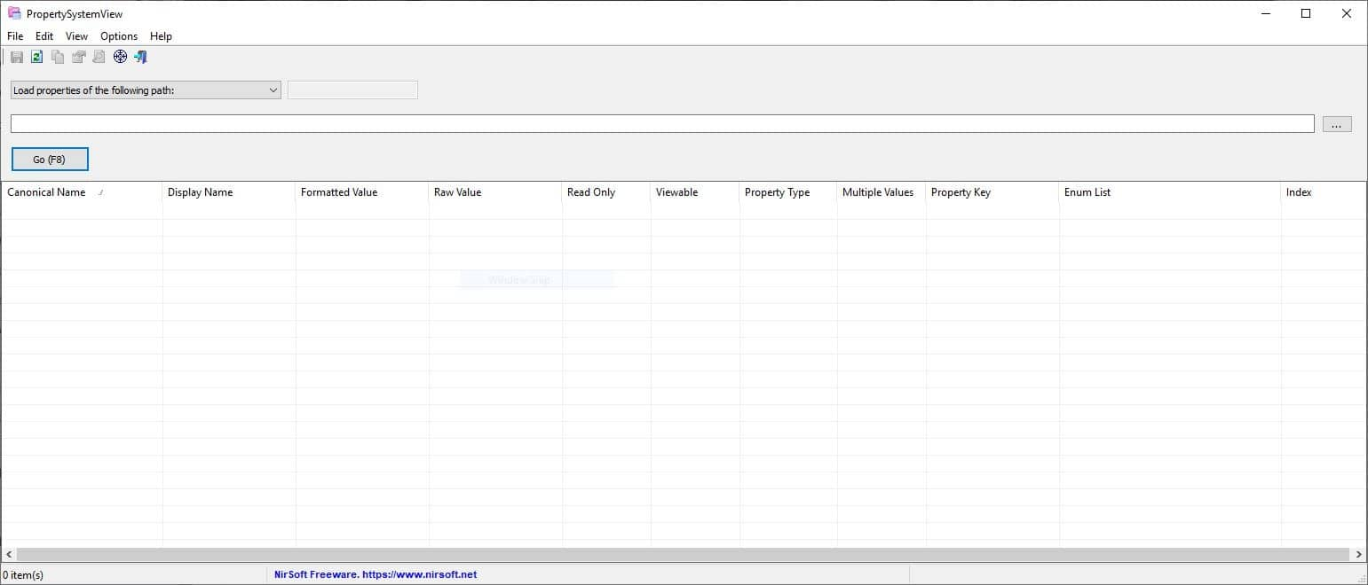 View and edit file properties with PropertySystemView, a new freeware tool from Nirsoft