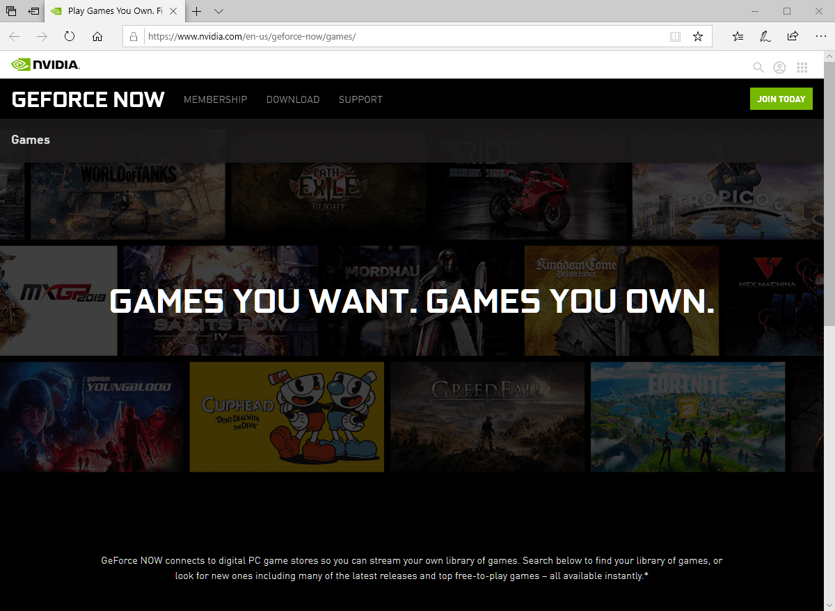 Nvidia GeForce Now game streaming service now available (in Europe and United States)