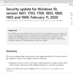 microsoft pulls KB4524244 windows 10