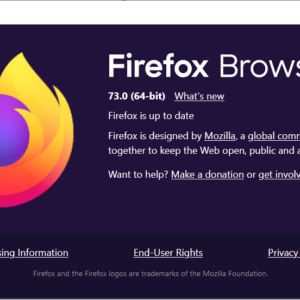 mozilla firefox 73.0