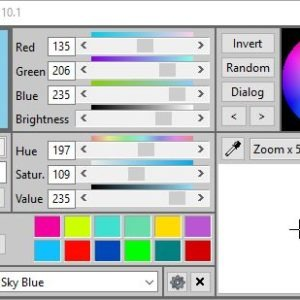 ColorMania is a freeware color picker tool for Windows