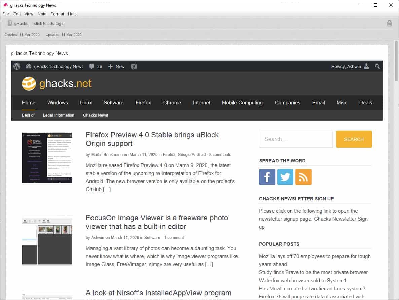 Elephant HTML