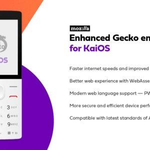 KaiOS Mozilla Features