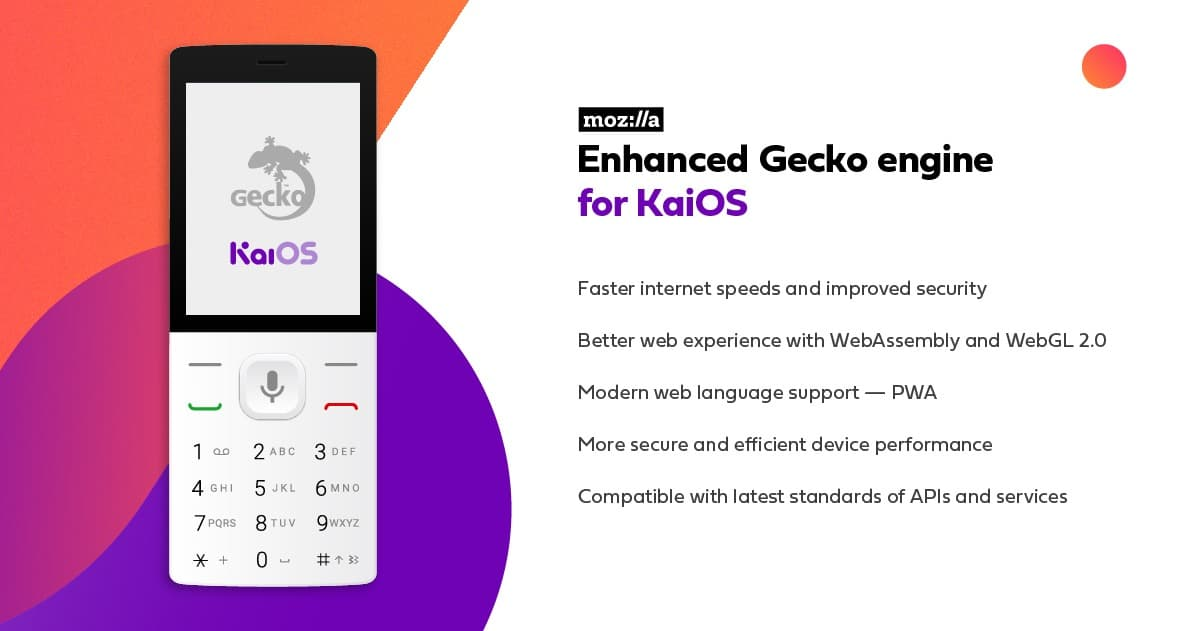 KaiOS Mozilla Features