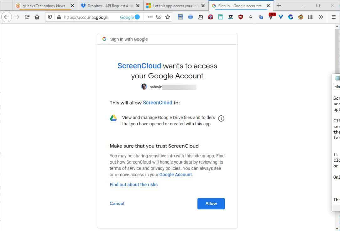 ScreenCloud cloud service 2