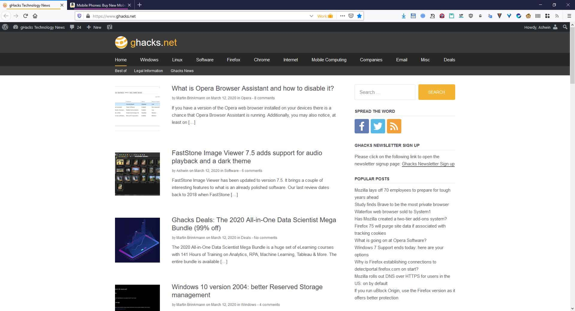 automaticDark Firefox default theme