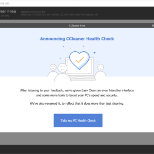 ccleaner health check