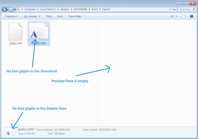 font parsing vulnerability fixed