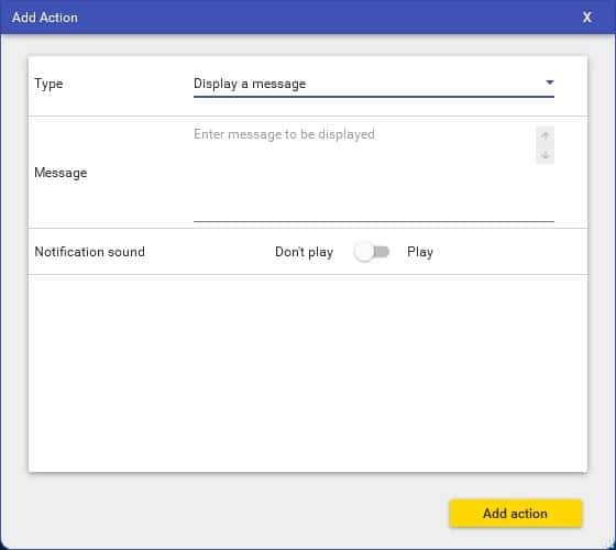 RoboIntern example task notification