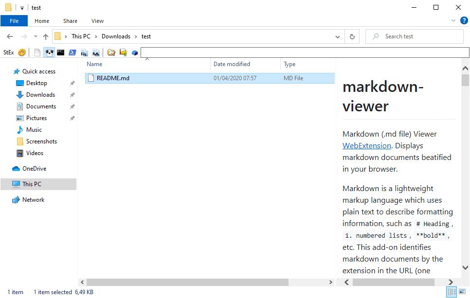 markdown viewer
