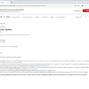 microsoft windows-security updates april 2020