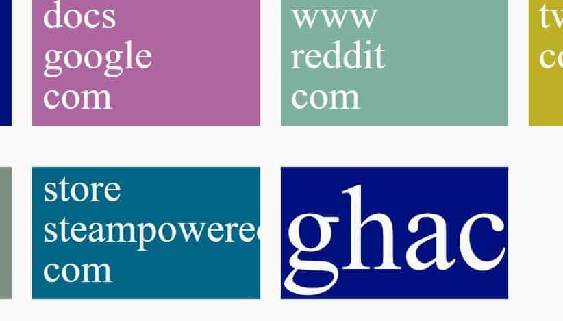 sidebar+ startpage gigantic