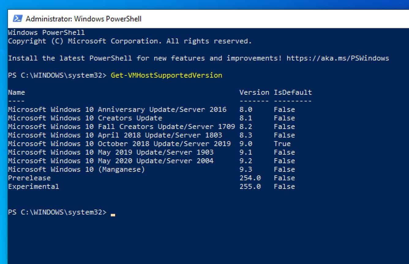 windows 20 may 2020 update