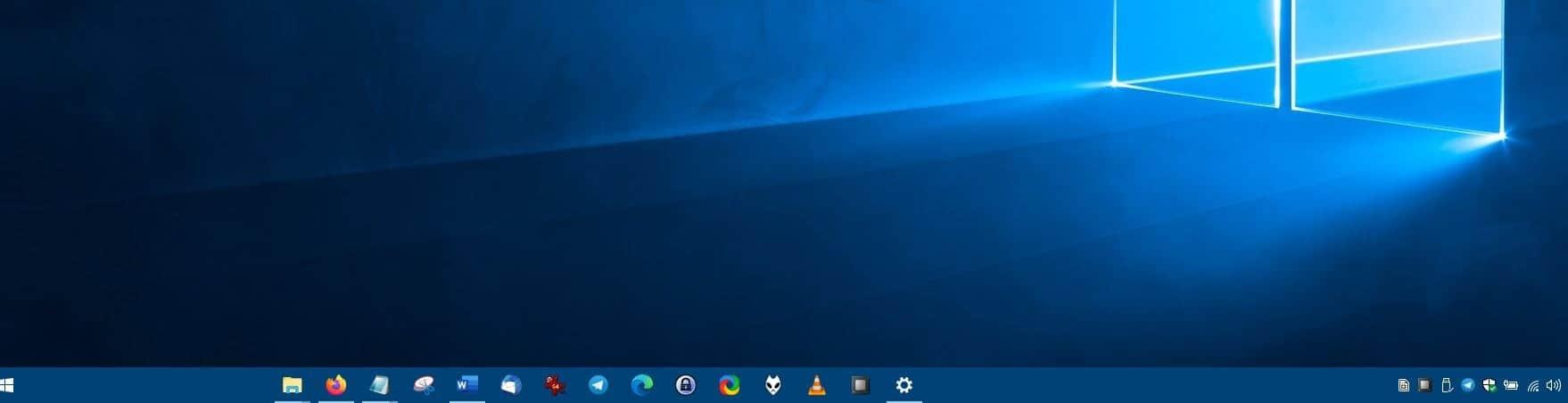 CenterTaskbar - after disabling second display