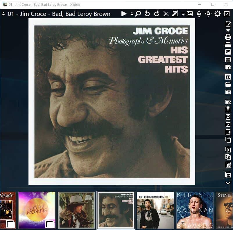 XlideIt Image Viewer - audio player