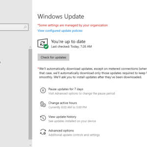 windows 10 update 2020 issues