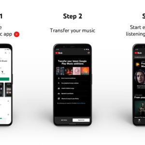 youtube music google play music transfer