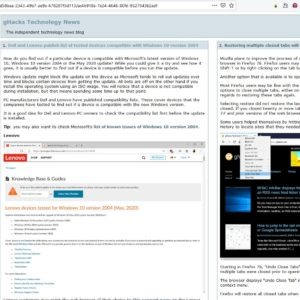 Drop Feeds is an RSS reader extension for Firefox