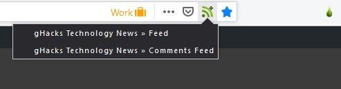 Drop Feeds subscribe feed