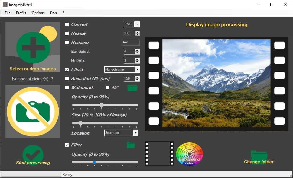 ImagesMixer filter
