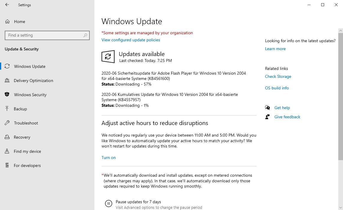 windows security update june 2020