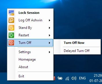 Add a confirmation or timer to Shut Down, Restart the computer with OxyBits EasyShutdown